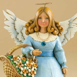December Angel Figurine – Jim Shore Heartwood Creek 4012561