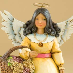 November Angel Figurine – Jim Shore Heartwood Creek 4012560