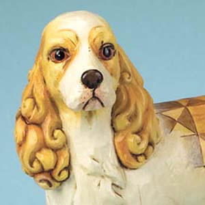 """Sadie"" Cocker Spaniel Figurine – Jim Shore Heartwood Creek 4013024"