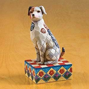 """Terry"" Terrier Figurine – Jim Shore Heartwood Creek 4004852"