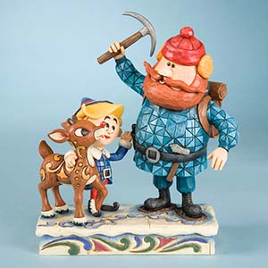 Rudolph, Yukon, and Hermey Figurine – Rudolph Traditions by Jim Shore 4009801