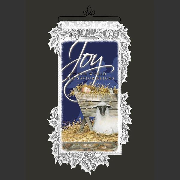 Nativity Joy - Heritage Lace Christmas Inspirational Wall Hangings WH68W-0504
