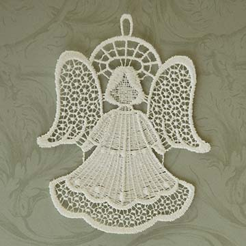 Angel Macrame Ornament Set - Heritage Lace OC-003