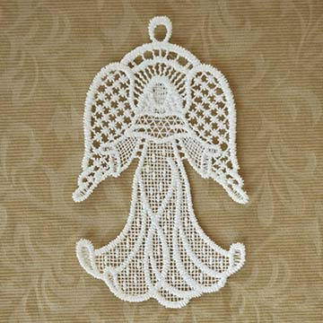 Rejoice Macrame Ornament Set - Heritage Lace OC-012