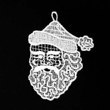 Macrame Ornaments Santa - Heritage Lace - OC-033