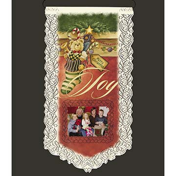 Christmas Stocking - Heritage Lace Wall Hanging WH33E-0671