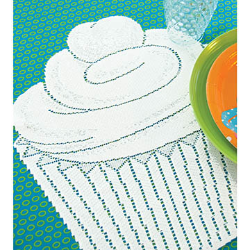 Cupcake Placemat (set of 2) CP-1517W - RETIRED
