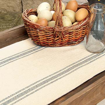Market Stripe 32″ Runner – Heritage Lace – Country Collection – MS-1432P