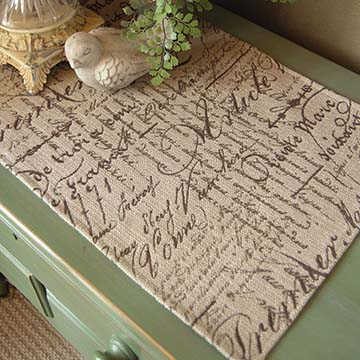 Parchment Placemat – Heritage Lace – Transitional Collection – PA-1420X