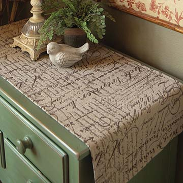 Parchment 32″ Runner – Heritage Lace – Transitional Collection – PA-1432X