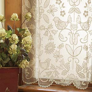 Rhapsody 84″ Panel – Heritage Lace Transitional Collection – 8505CH-6084, 8505W-6084