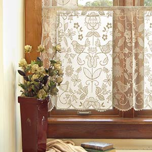 Rhapsody 24″ Tier – Heritage Lace Transitional Collection – 8505CH-6024, 8505W-6024
