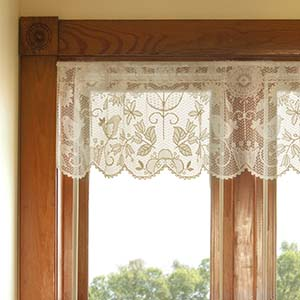 Rhapsody Valance - Heritage Lace Transitional Collection 8505CH-6016, 8505W-6016