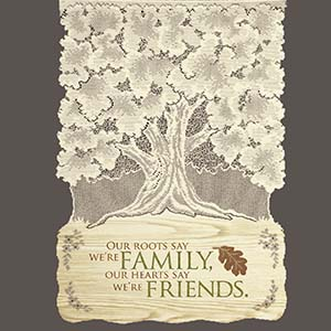 Roots-Family - Heritage Lace Family Wall Hangings WH63E-0737