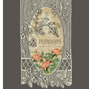 Friendships Bloom - Heritage Lace Friends Wall Hangings WH64E-0716