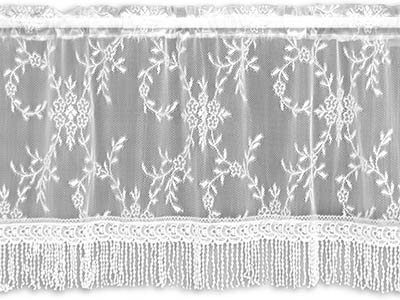 Yorkshire Valance - Downton Abbey by Heritage Lace 6370B-4220HT, 6370W-4220HT, 6370X-4220HT