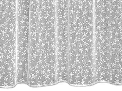 Starfish Shower Curtain Heritage Lace 7255W OC Store