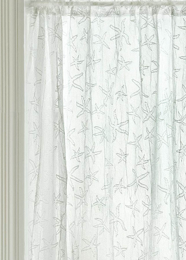Starfish 15 63 Sidelight Panel Heritage Lace 7255w 1563sl Lace Curtain Store