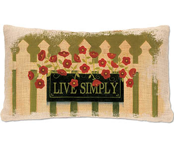 Welcome Pillow 12x20