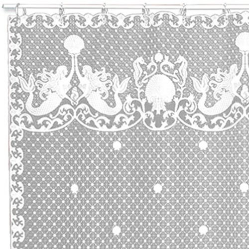 Mermaids Shower Curtain - Heritage Lace 6395W-OC