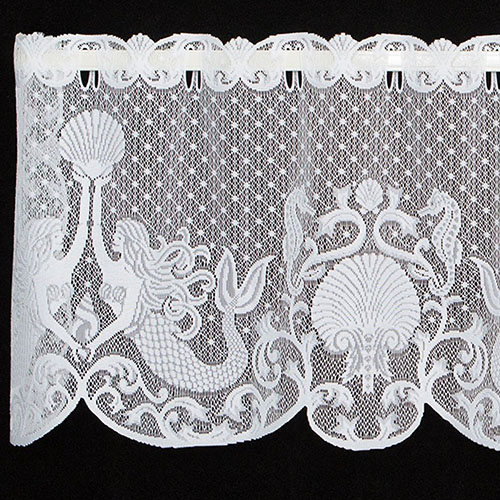 Mermaids Valance - Heritage Lace 6395W-6015