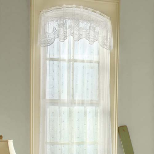 Lighthouse Valance - Heritage Lace Coastal Collection 6140W-6015