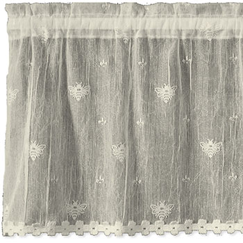 Bee Valance w/ Trim - Heritage Lace 7165E-4515HT, 7165W-4515HT