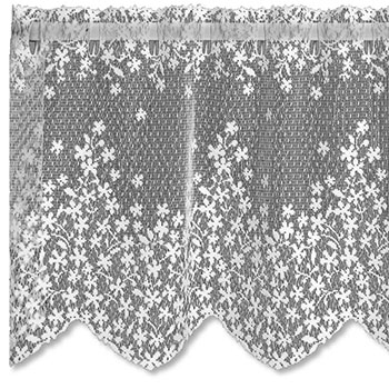 Blossom Valance - Heritage Lace - Country Collection - 6350E-4215, 6350W-4215
