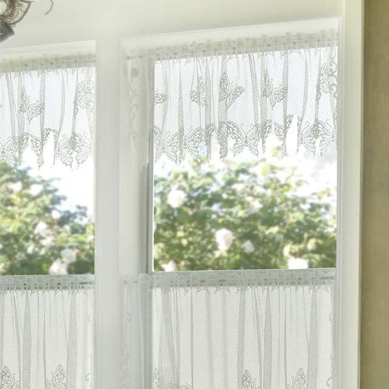 Butterflies Valance - Heritage Lace - Country Collection - 6245W-6015