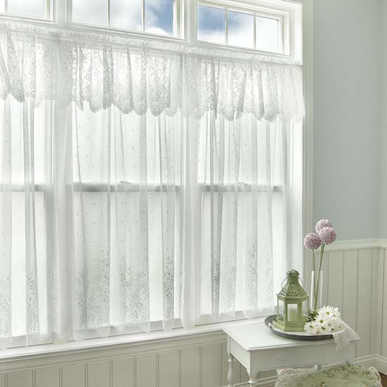 Floret Valance - Heritage Lace - Romantic Collection - 6290E-6016, 6290W-6016