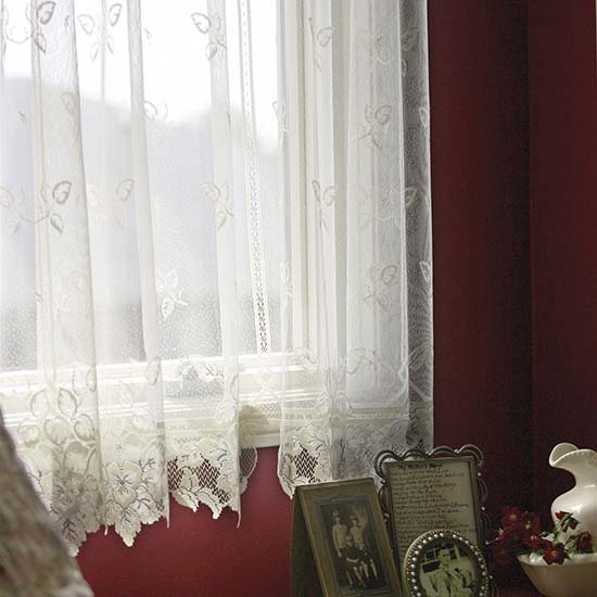 Heirloom 84″ Panel (Sheer) – Heritage Lace – Day in the Country Collection – 9700E-6084, 9700W-6084