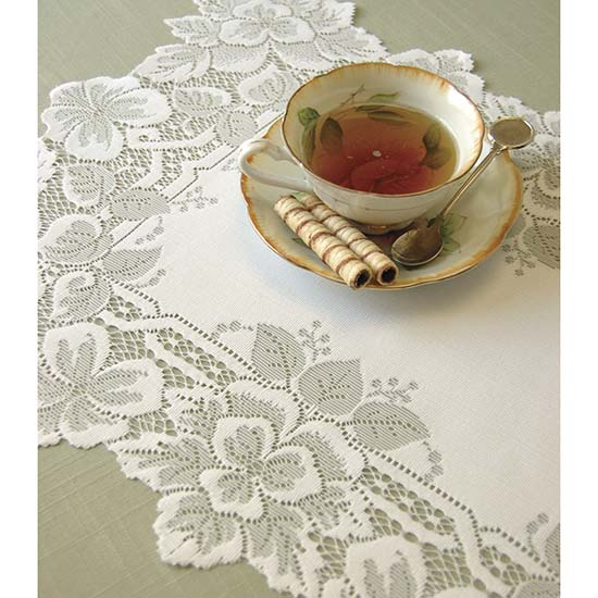 Heirloom Placemat (set of 6) - Heritage Lace HL-1420E, HL-1420W