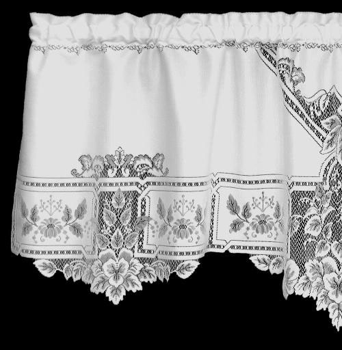 Heirloom Valance - Heritage Lace 9700E-6022, 9700W-6022