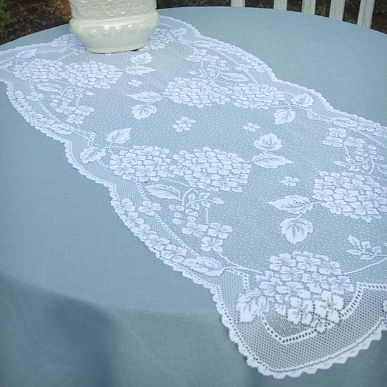 Hydrangea Doily - Heritage Lace - Day in the Country Collection - HA-1429E, HA-1429S, HA-1429W