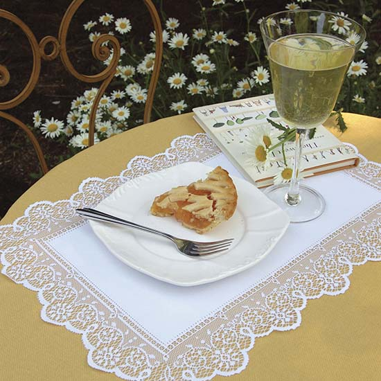 Prelude Placemat - Heritage Lace - Day in the Country Collection - PR-1419E, PR-1419W