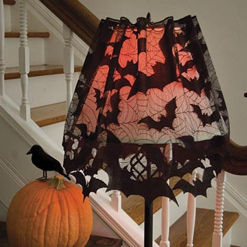 Going Batty 4-Way - Heritage Lace Halloween 7095B-LS
