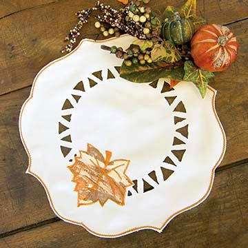 Harvest Sheer Doily (set of 2) - Heritage Lace Harvest HS-1200C