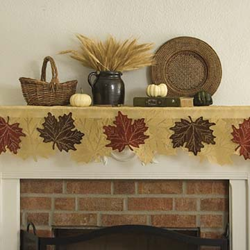 Leaf 4-Way &#8211; Heritage Lace &#8211; Harvest / Lodge Collection -7155G-4W