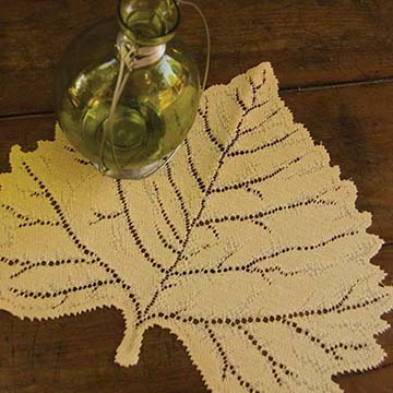 Leaf Aspen Placemat (set of 6) - Heritage Lace AP-1416DP, AP-1416ER, AP-1416G