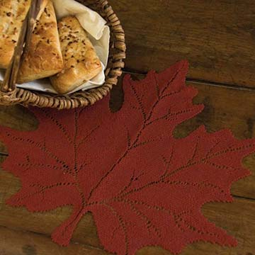 Leaf Maple Placemat (set of 6) - Heritage Lace MP-1415DP, MP-1415G