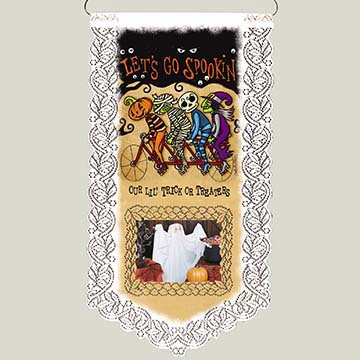 Let's Go Spookin' – Heritage Lace – Halloween Wall Decor – WH33W-0688
