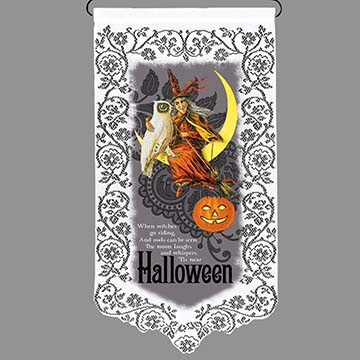 'Tis Halloween - Heritage Lace Halloween Wall Hanging WH11W-0686