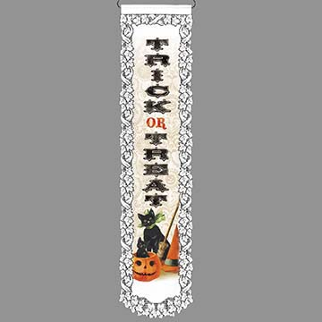 Trick or Treat - Heritage Lace Halloween Wall Hanging WH26E-0685