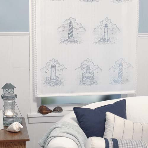 Lighthouse Roller Shade 35