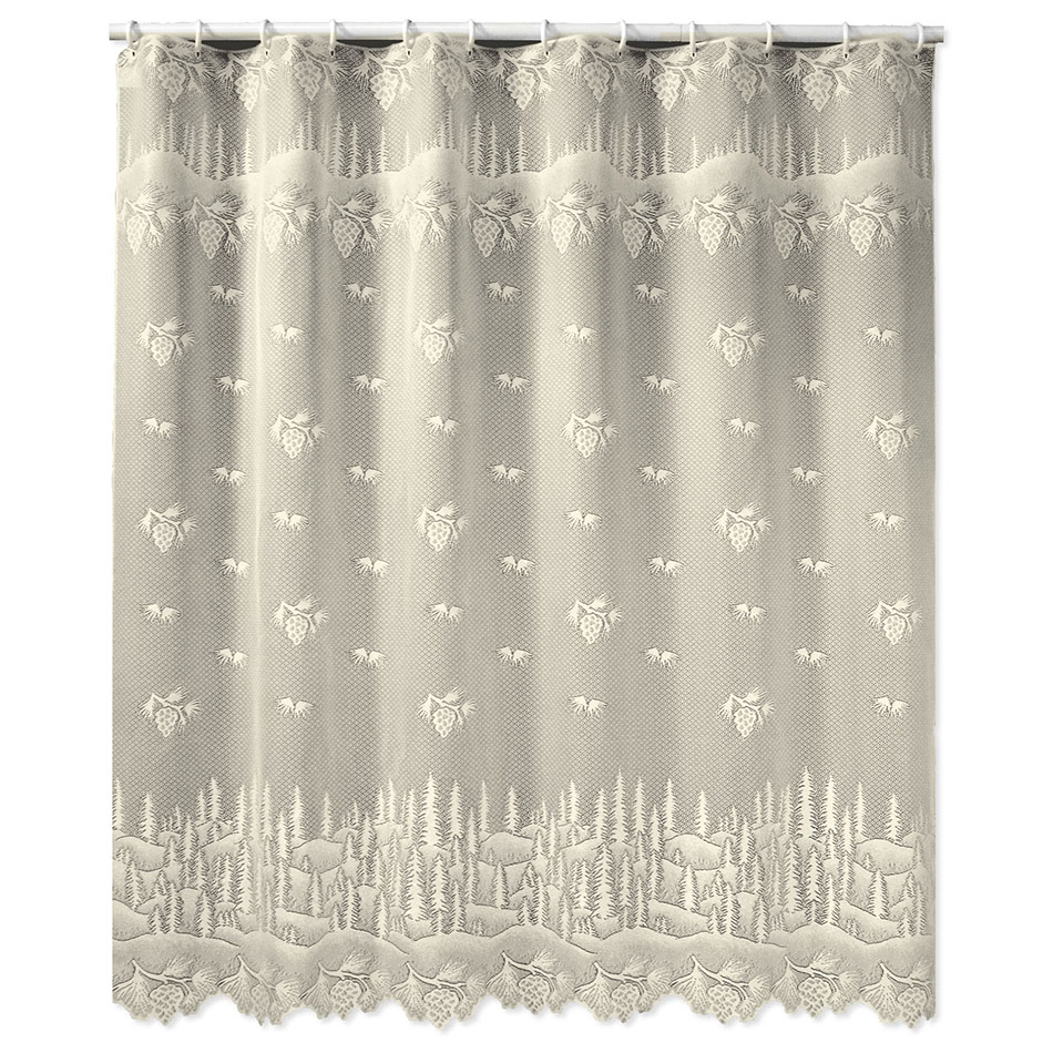 Pinecone Lodge Shower Curtain | Meijer.com