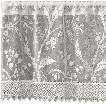 Coventry Valance with Trim - Heritage Lace - Romantic Collection - 7150I-4518HT