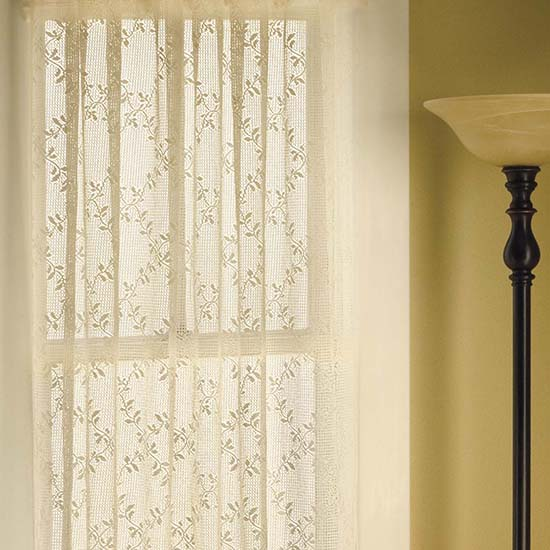 Trellis Valance - Heritage Lace - Romantic Collection - 8260E-6020, 8620W-6020
