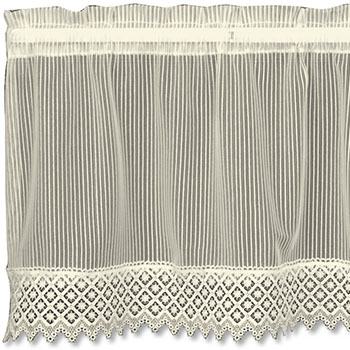 Chelsea Valance - Heritage Lace Timeless & Classic Collection 8275E-4814HT, 8275X-4814HT, 8275W-4814T