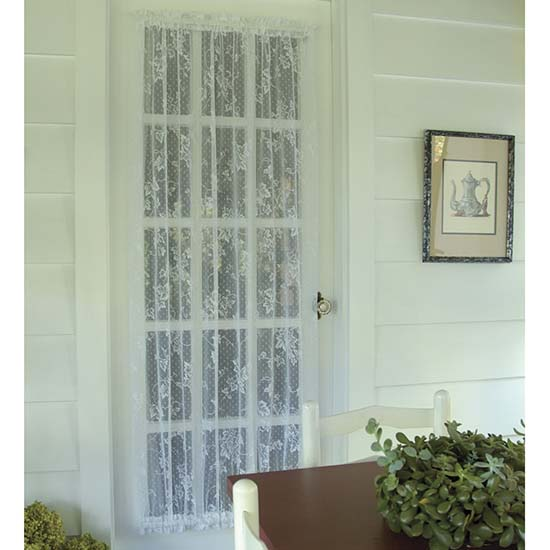 English Ivy 48″ x 72″ Door Panel – Heritage Lace – Timeless & Classic Collection  – 9130E-4872DP, 9130W-4872DP