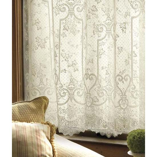English Ivy 60″ x 84″ Panel – Heritage Lace – Timeless & Classic Collection  – 9130E-6084, 9130W-6084